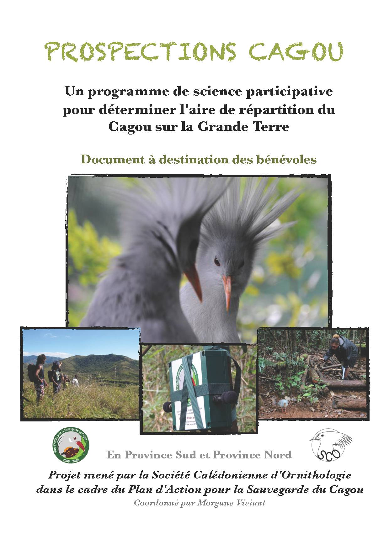 p1 Projet PROSPECTION CAGOU 2014 - Programme de science participative R