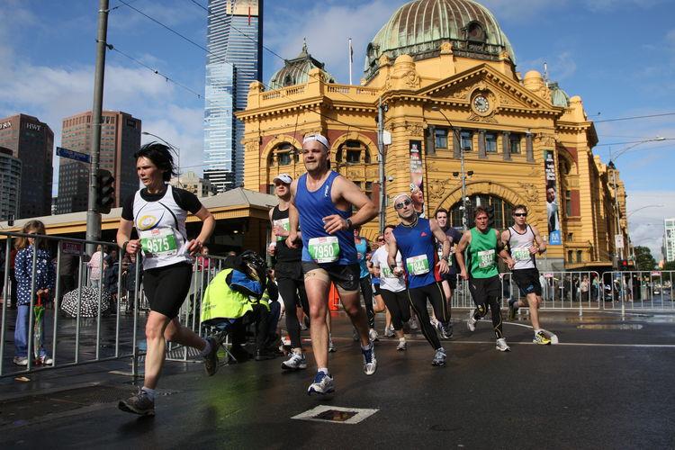 Melbourne Marathon 1