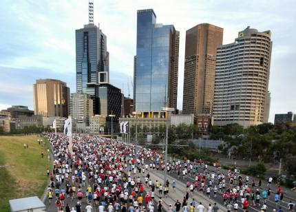 Melbourne marathon 3