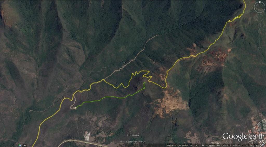 nouveau sentier réservoir koniambo